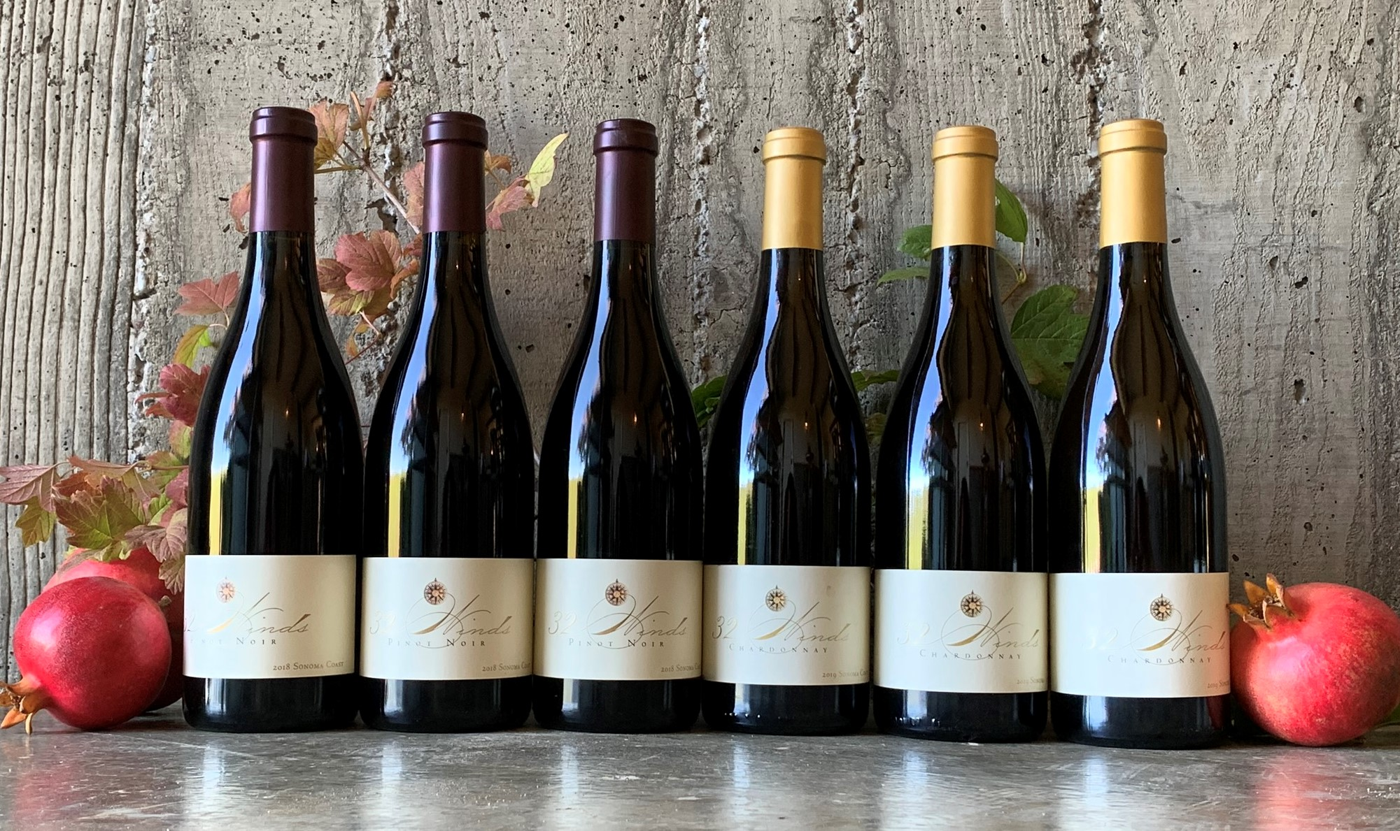 2018 Pinot and Chardonnay Platt Vineyard - 6 Bottles - PRE-ORDER